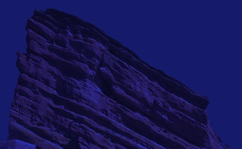 red rocks mountain