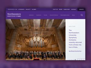 Bienen school of music homepage