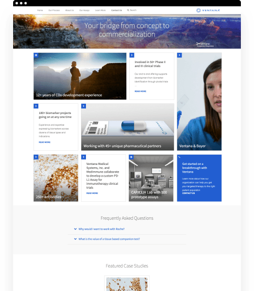 Ventana Website Development By Clique Studios, LLC