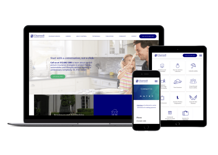 Chartwell Insurance Website