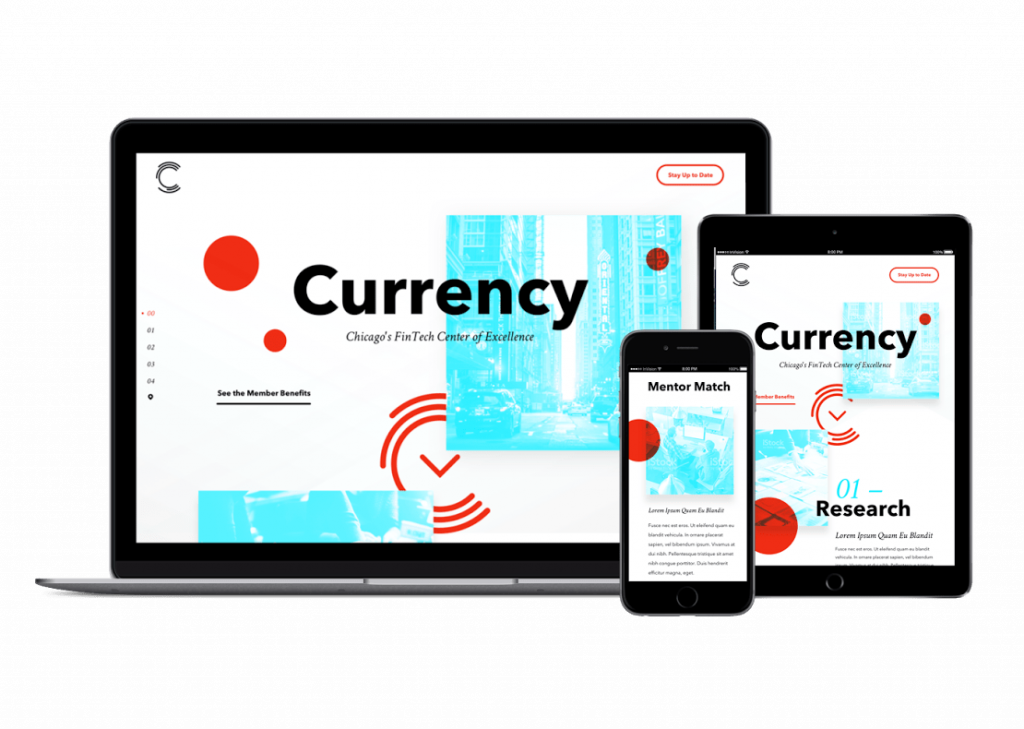 Currency Splash Page