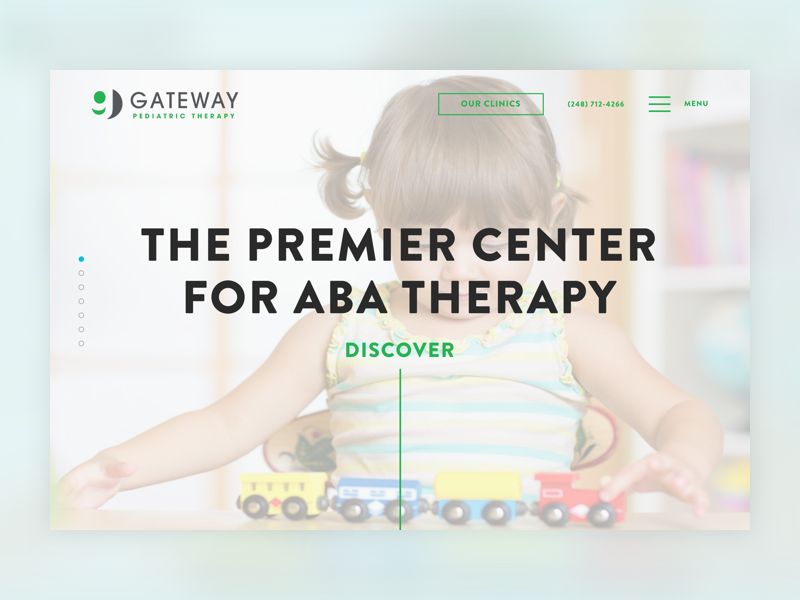Gateway top medical website design