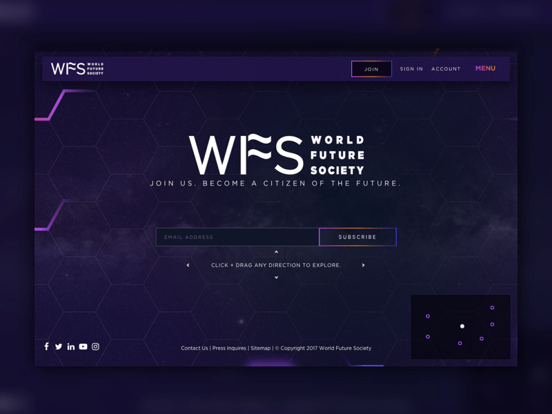 World Future Society home page