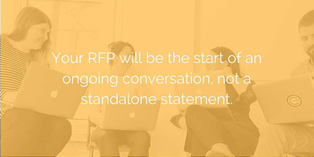 rfp chicago web design agency