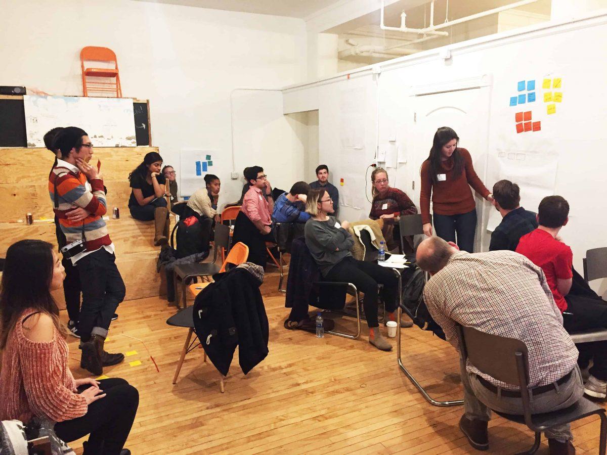 Clique's accessibility workshop participants