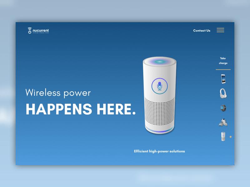 Nucurrent homepage