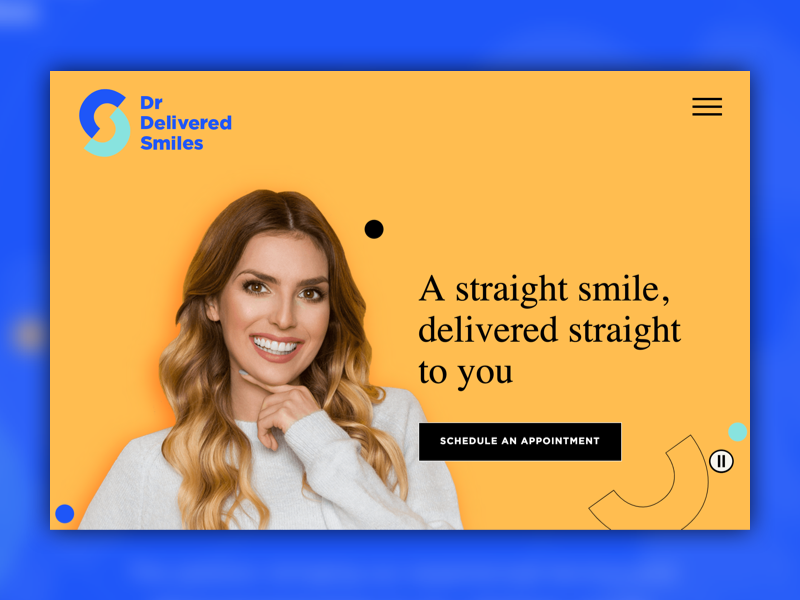 Dr. Delivered Smiles homepage
