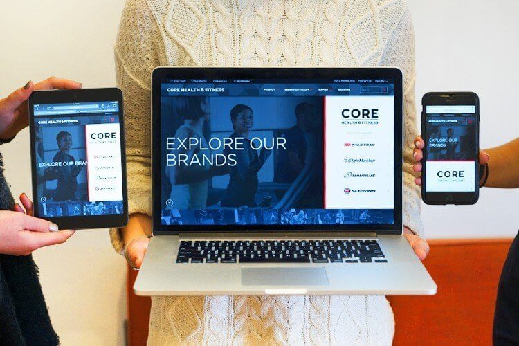 Core homepage