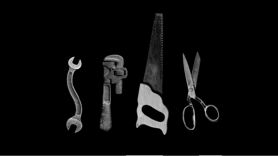 four different tools