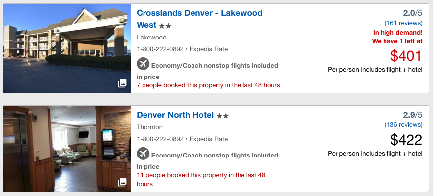 "hotel listing reading ""11 people have booked"""