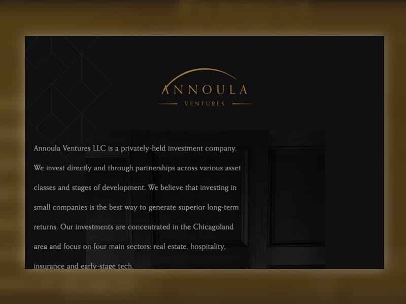 Annoula Ventures website