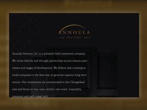 Annoula homepage