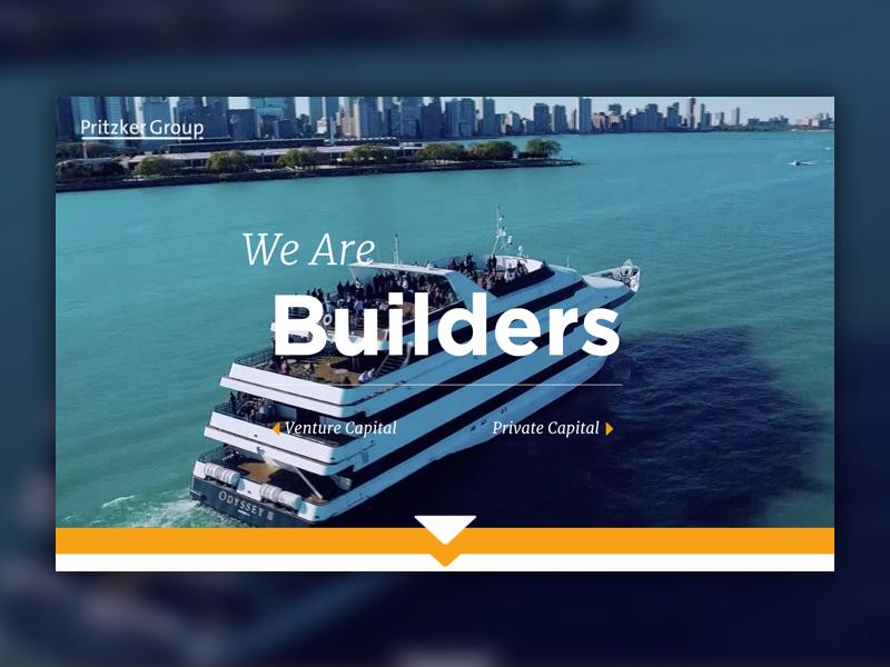 Pritzker website homepage