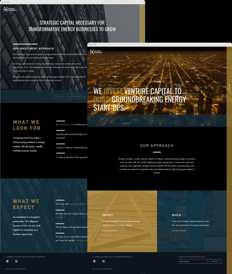 Energy Foundry Homepage