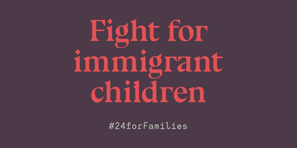 fight for immigrant children graphic