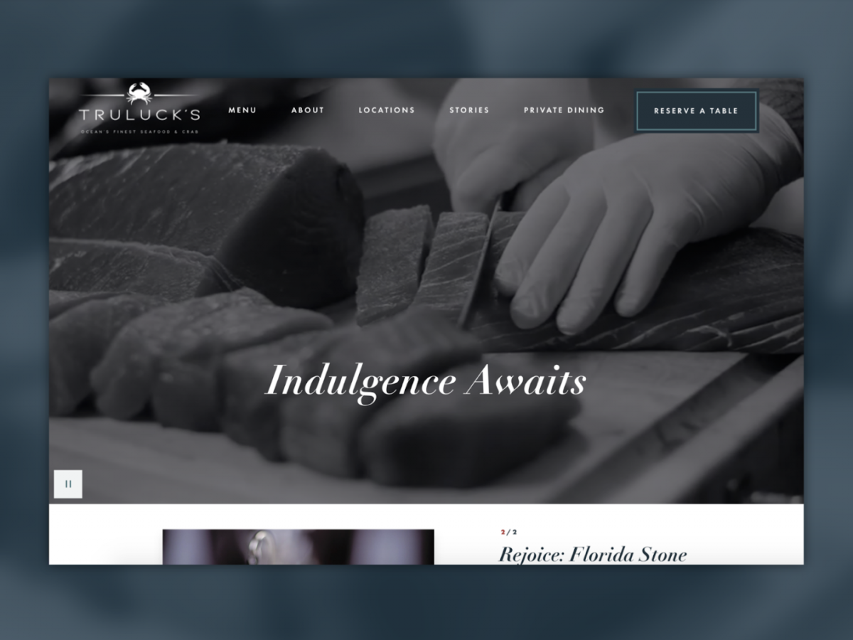 Truluck's homepage