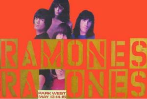 Ramones Concert Poster