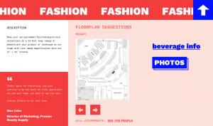Floor plan section on new website