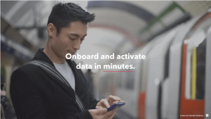 Onboard and activate data in minutes
