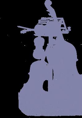 sketch of a violin