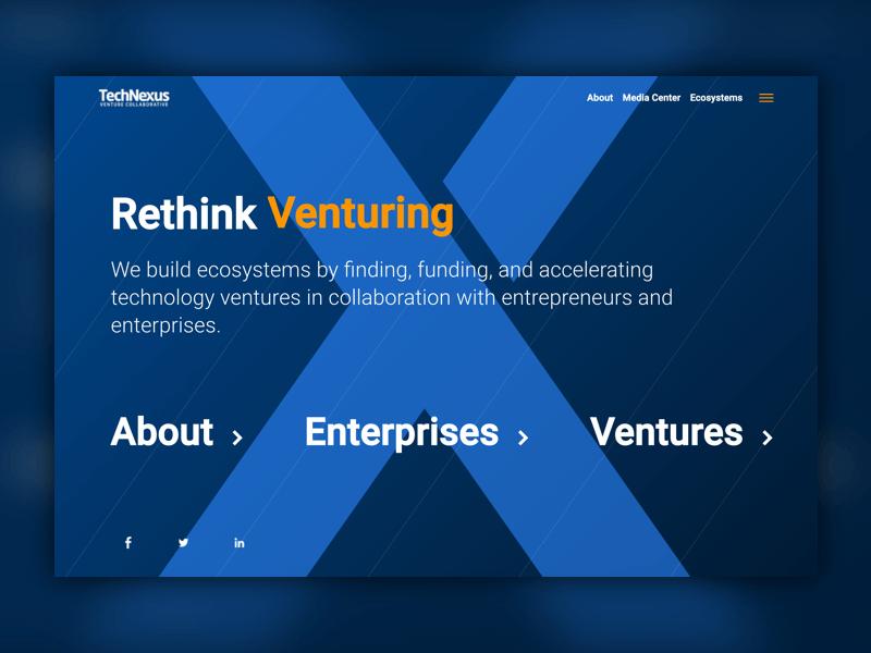 techNexus homepage