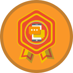 Gamification badge