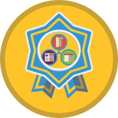 Interconnected platforms badge