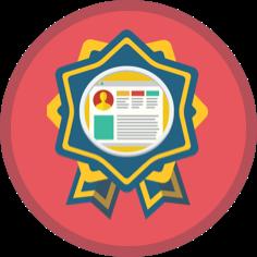 Personalization badge