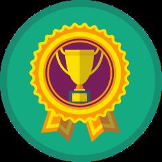 Social interaction badge