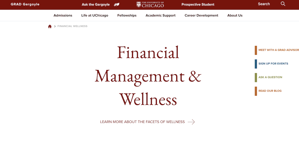 Financial Wellness Student Retention