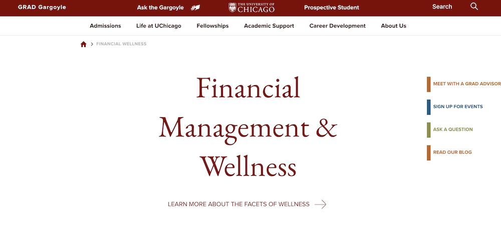 Financial Wellness Student Retention