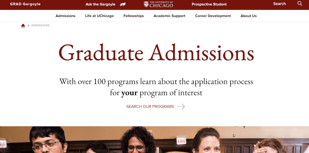 UChicago degree programs