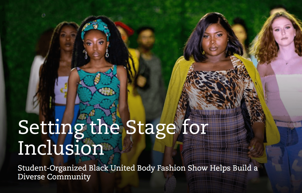 inclusion in the fashion industry article