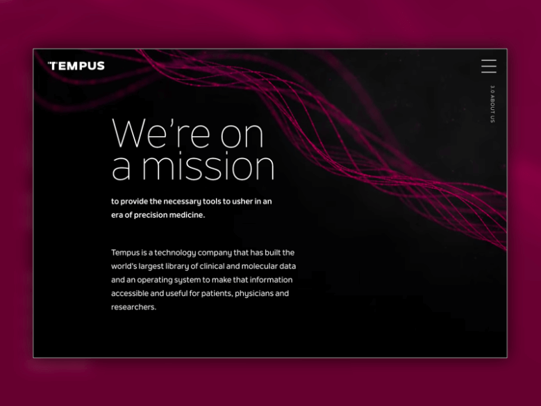 Tempus homepage