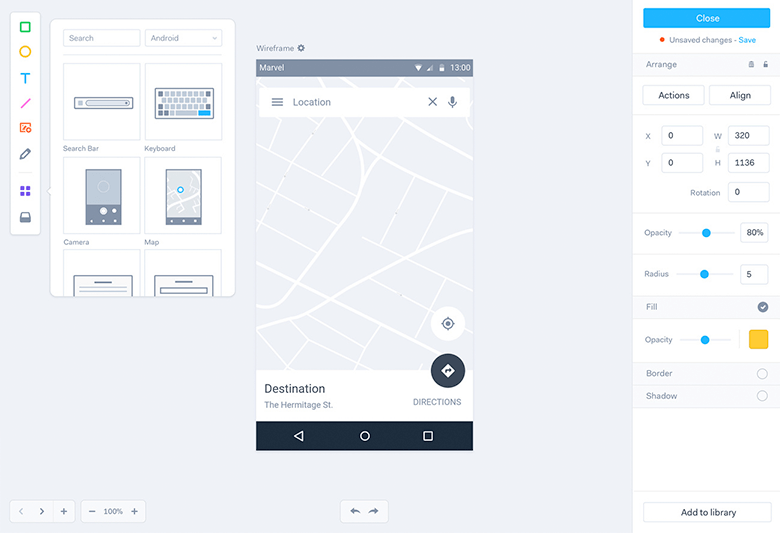 marvelapp-screenshot