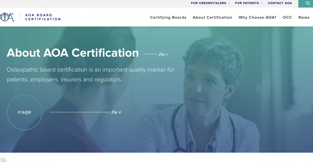 American Osteopathic Association Board Certification