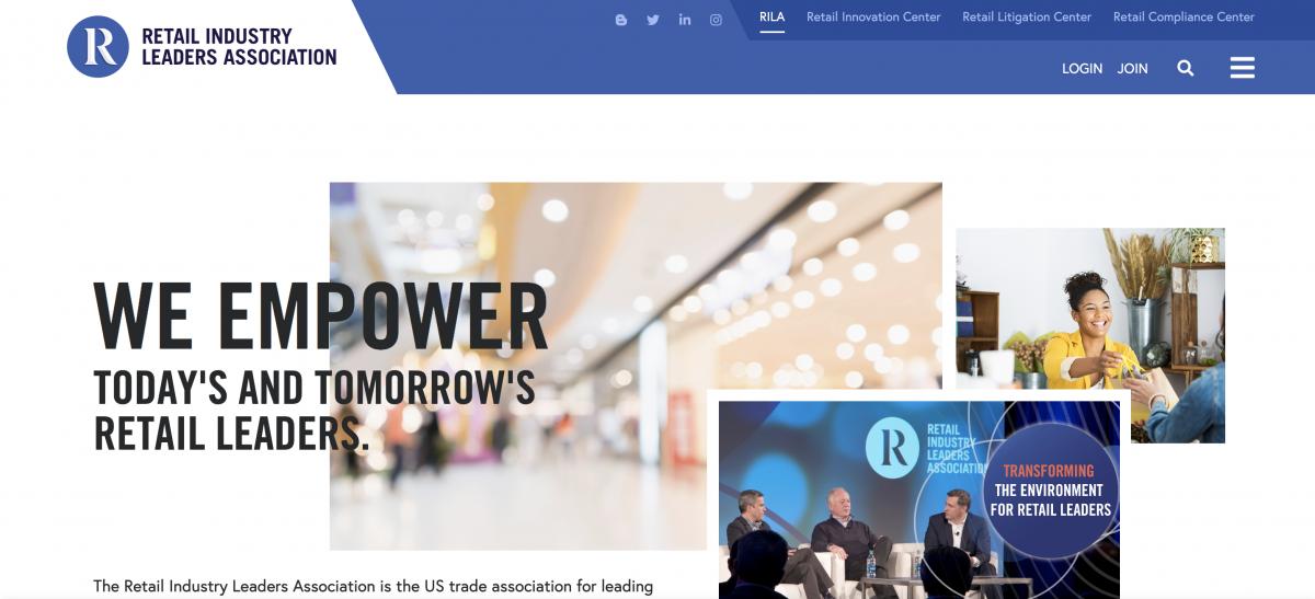 Retail Industry Leaders Association homepage