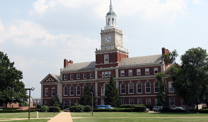 Howard University library