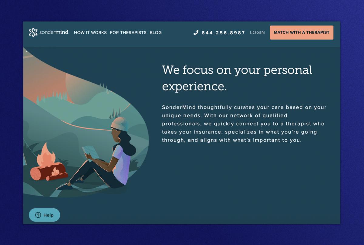 Sondermind homepage