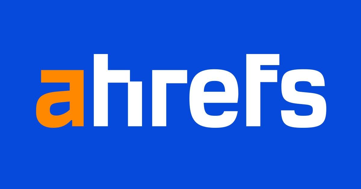 The Ahrefs logo